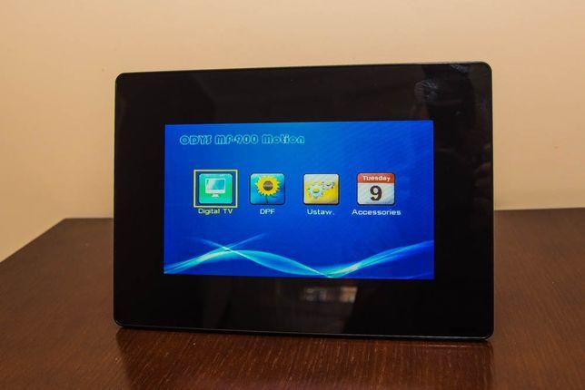 Cyfrowa ramka na zdjęcia z funkcją telewizji cyfrowej DVB-T