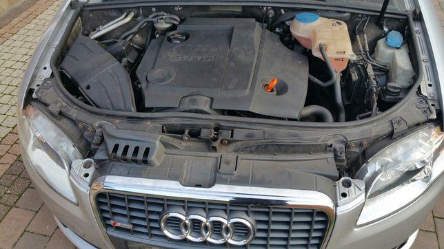 KOMPLETNY SILNIK z osprzętem BRE blb 2.0tdi 140 koni Audi A4 B7 A6 C6