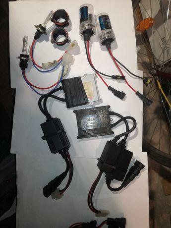 Zestaw XENON HID 6x żarnik, 2x przetwornice VERTEX, BMW e39