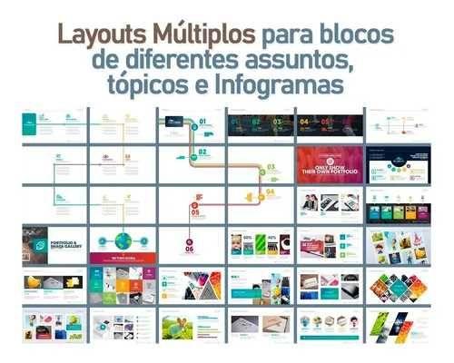 Slides Comerciais Editáveis + Mockups (power Point)