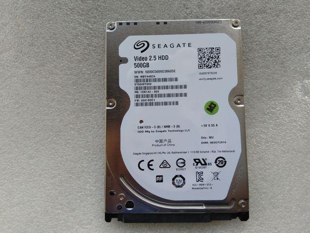 """Тонкий HDD 2.5"""" 500Gb 7мм Thin Жесткий диск для ноутбука Seagate"""