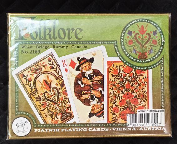 Карты Piatnik Folklore 2 колоды по 55 листов