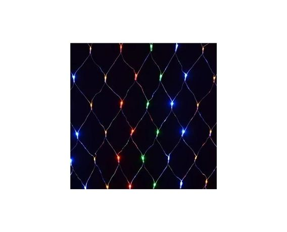 Kurtyna Świetlna Lampki Świąteczne WorkShop 180 LED Kolorowe 8 Funkcji