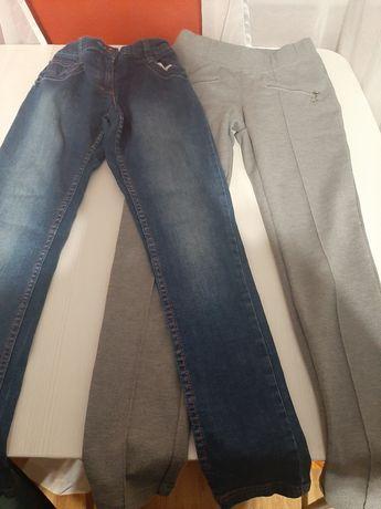 Spodnie dziewczęce r. 152
