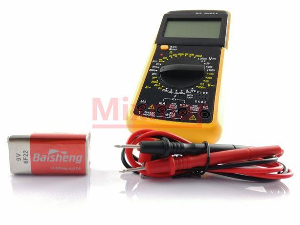 Multimetr cyfrowy miernik DT9205A