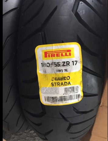 Шины для мотоцикла pirelli 180 55 17 Metzeler 190 50 17 новая 9000р