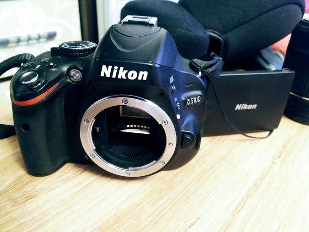 Продам фотоаппарат Nikon D5100 body
