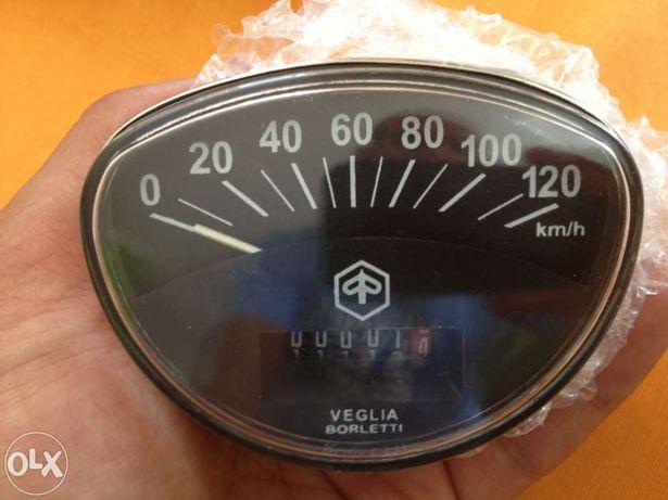 Conta km velocimetro vespa 120 km/h novo