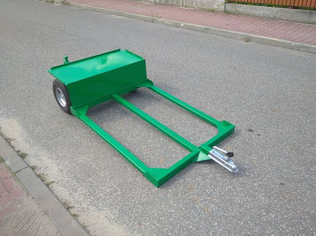 Wózek sadowniczy Mocne koła