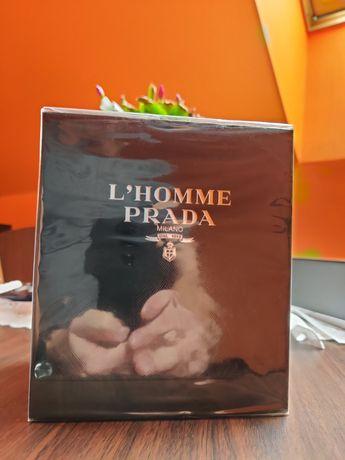 PRADA L HOMME 100ML + 8ML Zestaw