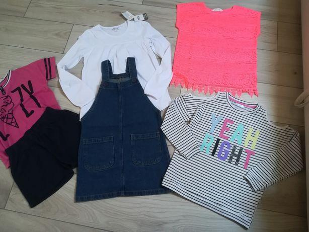 Paczka ubrań dla dziewczynki rozm. 134-140