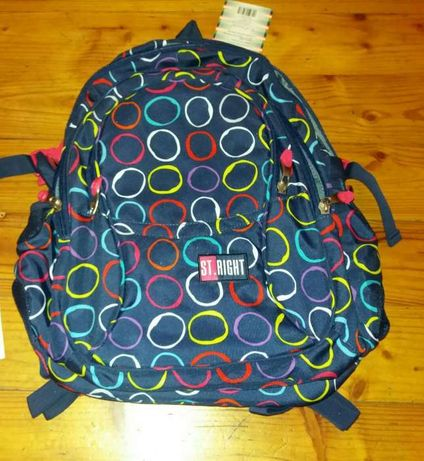 Nowy plecak St. Right 4 komory piórnik gratis