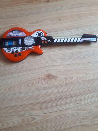 Gitara zabawka dla dzieci