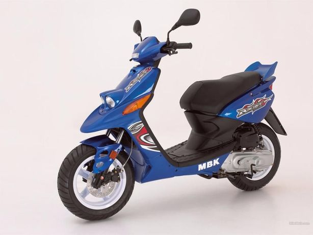 Rama + dokumenty (papiery) Yamaha BWS / MBK Booster Rocket 2005r