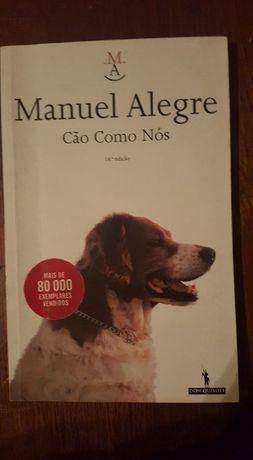 """""""Cão como nós"""", Manuel Alegre"""