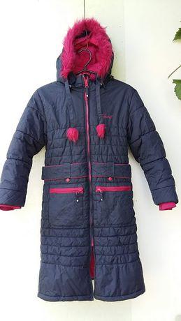Пальто - Пуховик Полукомбинезон Gusti Канада + Шапка и перчатки