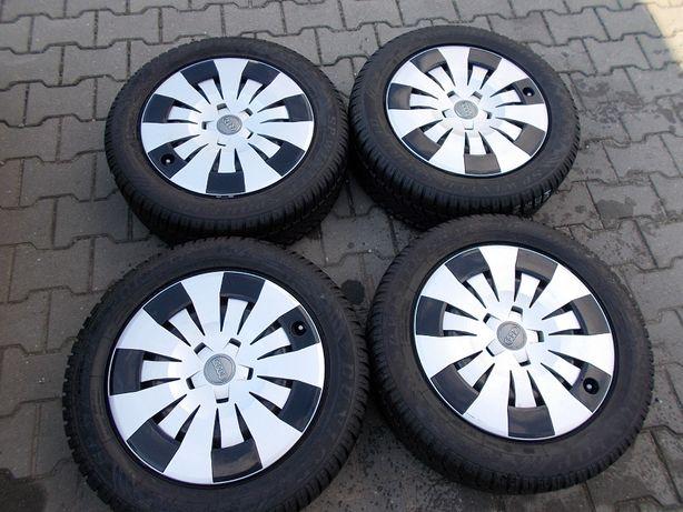 Opony zimowe z felgami 5x112 6Jx16 ET48 AUDI ,VW (K4)