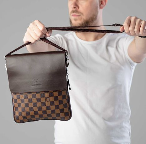Сумка мужская louis vuitton через плечо, сумка луи витон через плече