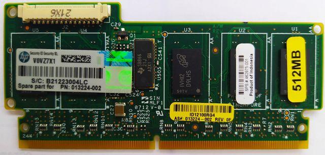 Модуль кэш-памяти bbwc 512 mb для RAID контроллеров hp P410 P212 P411