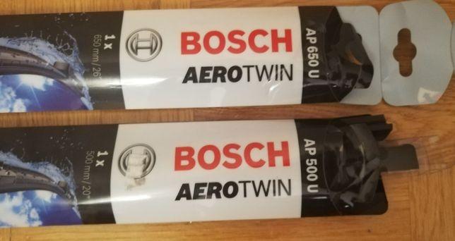 Wycieraczki Bosch AeroTwin AP650U oraz AP500U