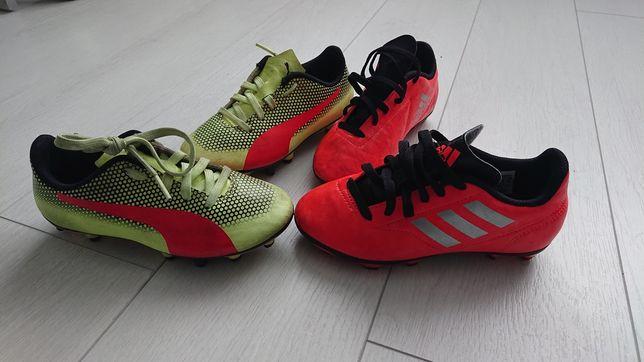 Бутсы футбольные Adidas и Puma