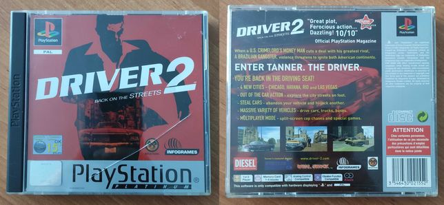 Driver 2 PSX PS1