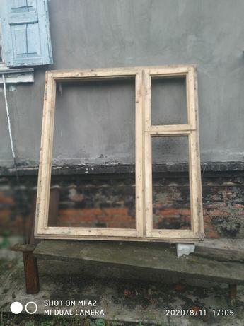 Окна деревянные короб и рама