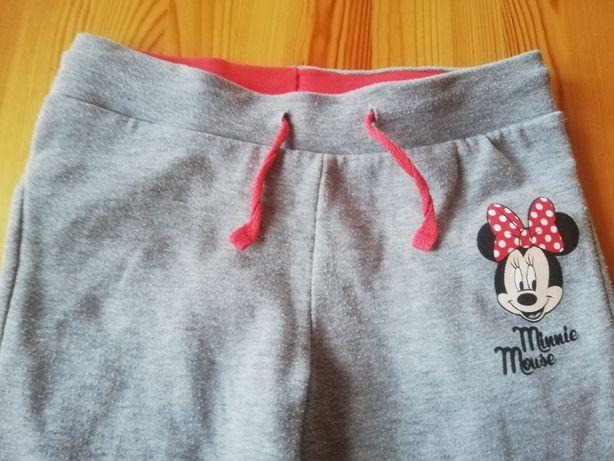 Spodnie dresowe C&A, Disney, Myszka Minnie, r. 116