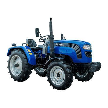 Минитрактор Foton Lovol FT 244 HX - трактор с широкой задней резиной