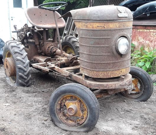 DZIK 2 traktor ciągnik PRL zabytek 2 osiowy 1969r