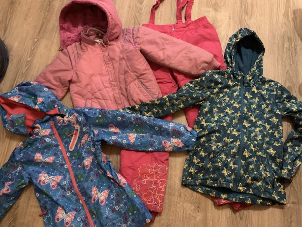 Mega paka ubrań dla dziewczynki rozm 146/158