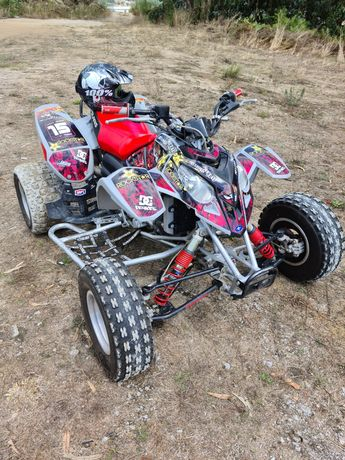 Moto 4 polaris predator 500 matriculada
