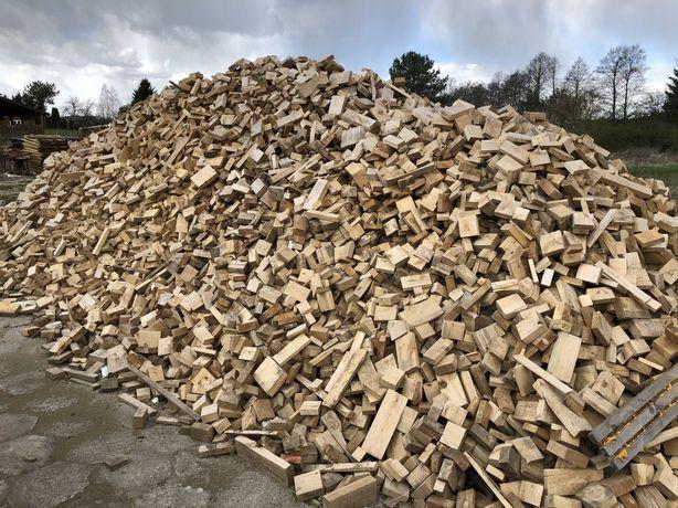 Drewno 280zl/t. kawałkowe, scinki, koncowki