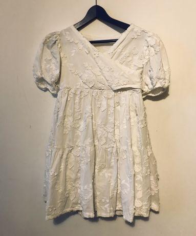 Sukienka Zara gipiura święta sesja r 116