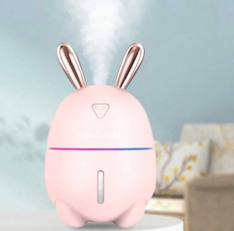 Увлажнитель воздуха и ночник 2в1 Humidifiers Rabbit