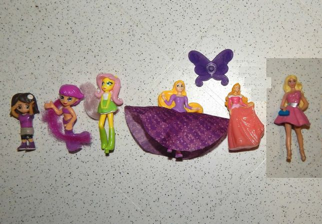 Фигурки принцесс, девочек.