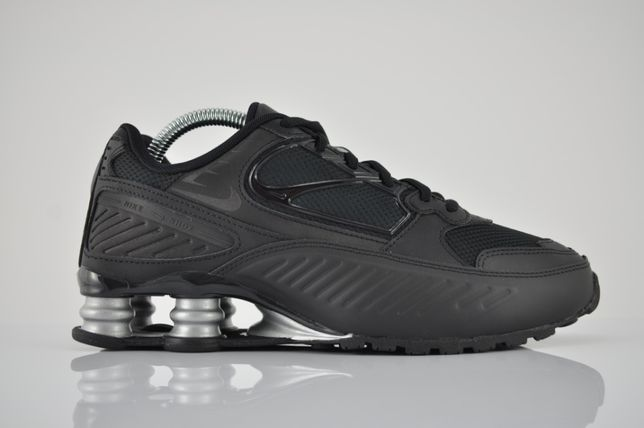 "Nike WMNS Shox Enigma ""Triple Black"" 40 40,5 nowe całe czarne PURRFECT"
