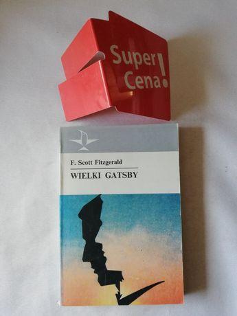 """książka """"wieki Gatsby"""" F. Scott Fitzgerald"""