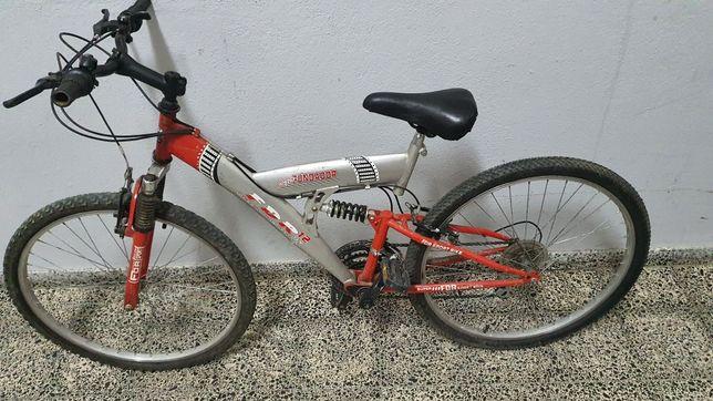 """Bicicleta BTT dupla suspensão roda 26"""""""