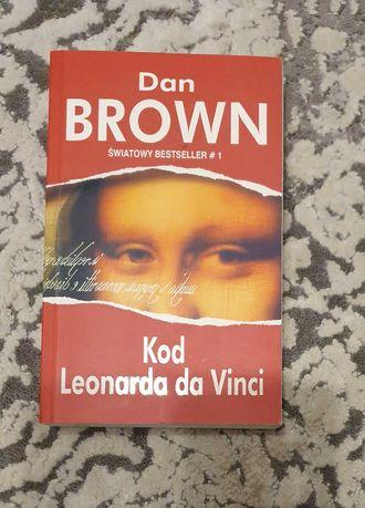Dan Brown książka Kod Leonarda da Vinci