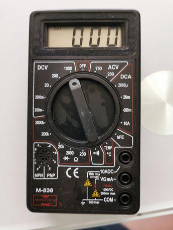 Miernik multimetr elektryczny elektroniczny