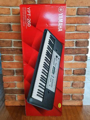 Keyboard Yamaha YPT-260 NOWY, gwarancja do 11.2022