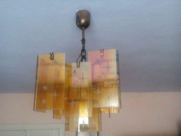 Світильник СССР скло+ метал