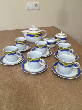 Новый чайный сервиз Чехия Thun Карловарский фарфор