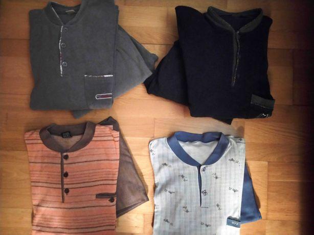 SONIA 4 Pijamas Quentes p/Homem (Tamanho: L, Outono-Inverno)
