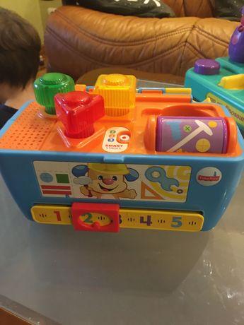 Fisher Price чемоданчик с инструментами