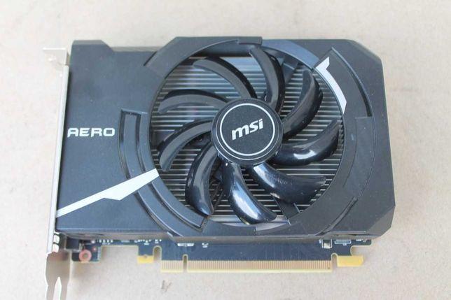 MSI GTX 1050 Ti Aero 4GB Karta graficzna do gier Gwarancja FVAT23%