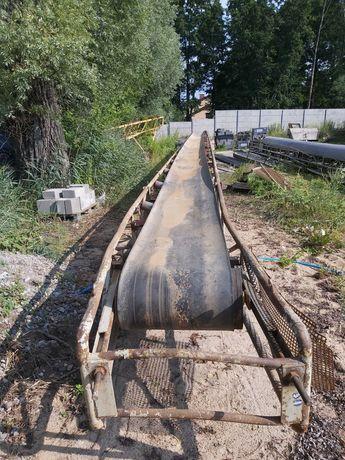 Taśmociąg, przenośnik taśmowy 17 m używany