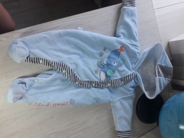 Флисовый костюмчик на хлопчика р.62