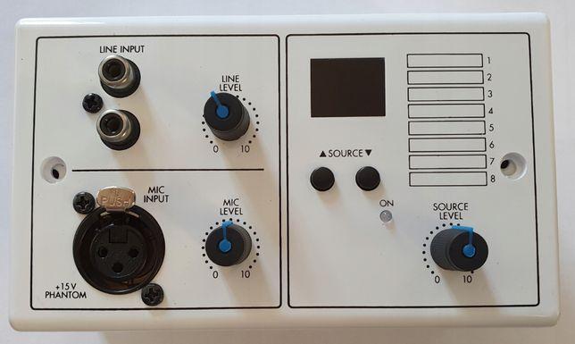 MONACOR ARM-880WP1 Panel sterownik ścienny 100V